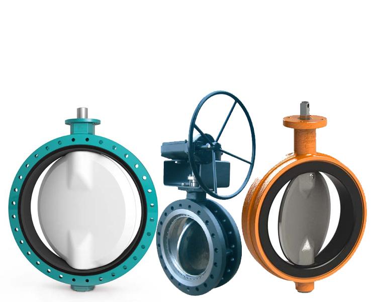 Butterfly valves AVK Flowcontrol