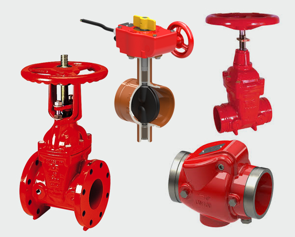 AVK UL & FM Approved Fire Products